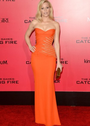 Elizabeth Banks - The Hunger Games: Catching Fire Premiere -01