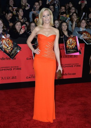Elizabeth Banks - The Hunger Games: Catching Fire Premiere -07