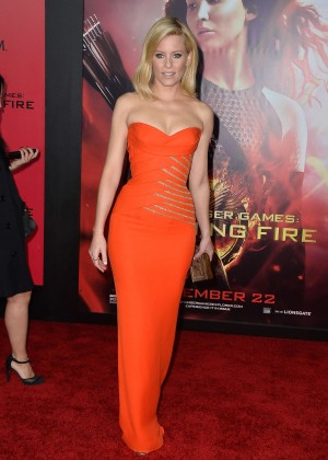 Elizabeth Banks - The Hunger Games: Catching Fire Premiere -14