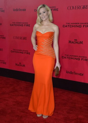 Elizabeth Banks - The Hunger Games: Catching Fire Premiere -17