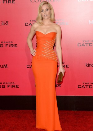 Elizabeth Banks - The Hunger Games: Catching Fire Premiere -20