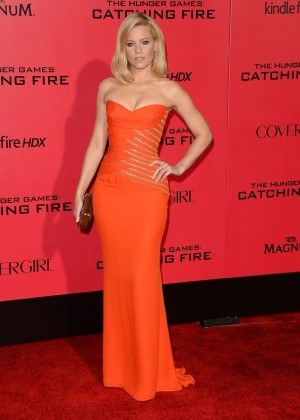 Elizabeth Banks - The Hunger Games: Catching Fire Premiere -24