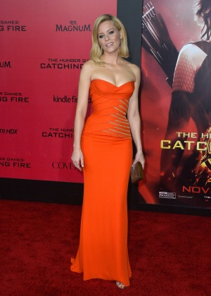 Elizabeth Banks - The Hunger Games: Catching Fire Premiere -26