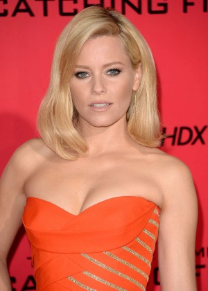 Elizabeth Banks - The Hunger Games: Catching Fire Premiere -33