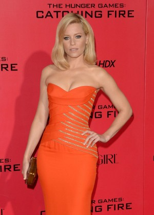 Elizabeth Banks - The Hunger Games: Catching Fire Premiere -37