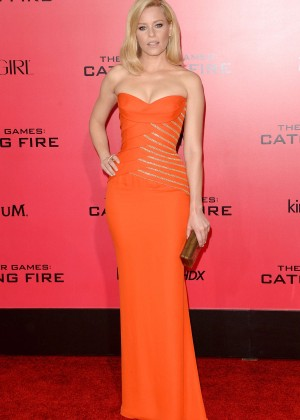 Elizabeth Banks - The Hunger Games: Catching Fire Premiere -38