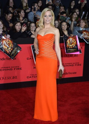 Elizabeth Banks - The Hunger Games: Catching Fire Premiere -41