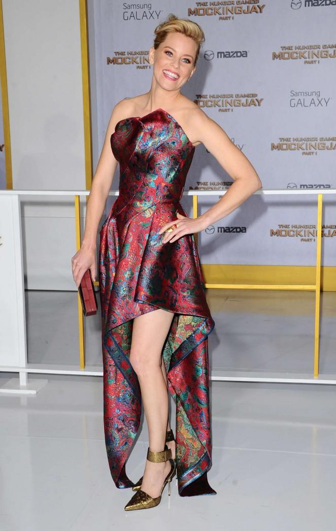 Elizabeth Banks – 'The Hunger Games: Mockingjay – Part 1' Premiere in LA