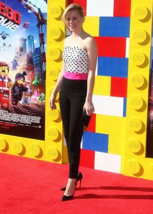 Elizabeth Banks: The LEGO Movie Premiere -03