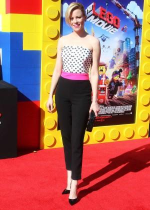 Elizabeth Banks: The LEGO Movie Premiere -06