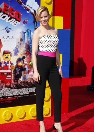 Elizabeth Banks: The LEGO Movie Premiere -13