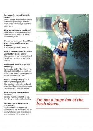 Elizabeth Deo: Lifestyle For Men Magazine 2014 -12