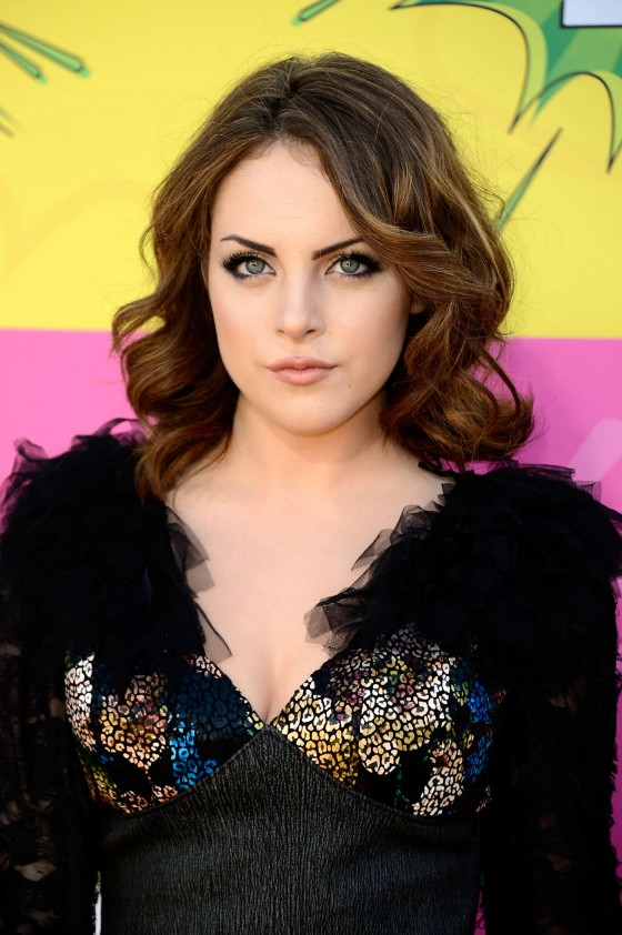 Elizabeth Gillies – 2013 Kids Choice Awards -03
