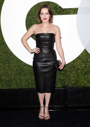 Elizabeth Henstridge - 2014 GQ Men Of The Year Party in LA