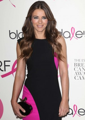 Elizabeth Hurley - Breast Cancer Research Foundation Pink Party in NYC