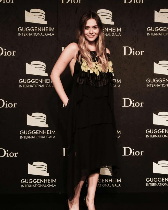 Elizabeth Olsen: Guggenheim International Gala 2013 -01