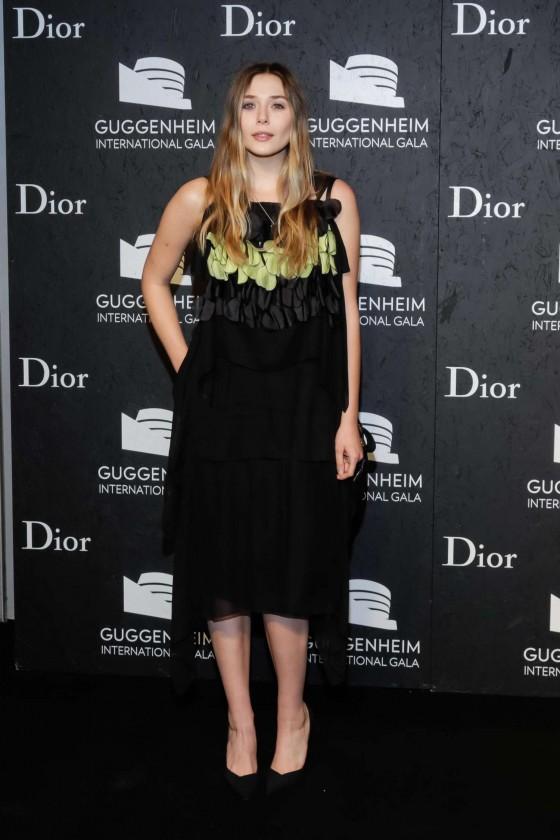 Elizabeth Olsen: Guggenheim International Gala 2013 -02
