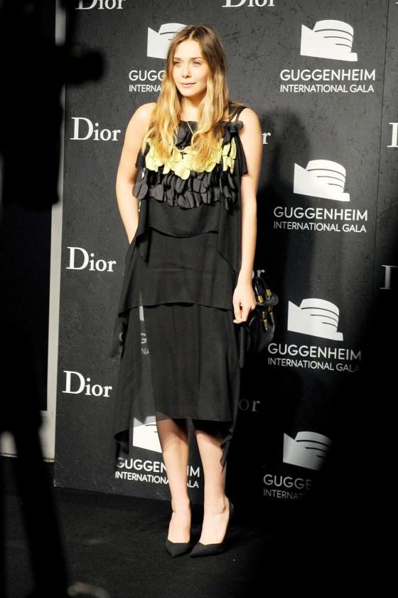 Elizabeth Olsen 2013 : Elizabeth Olsen: Guggenheim International Gala 2013 -04
