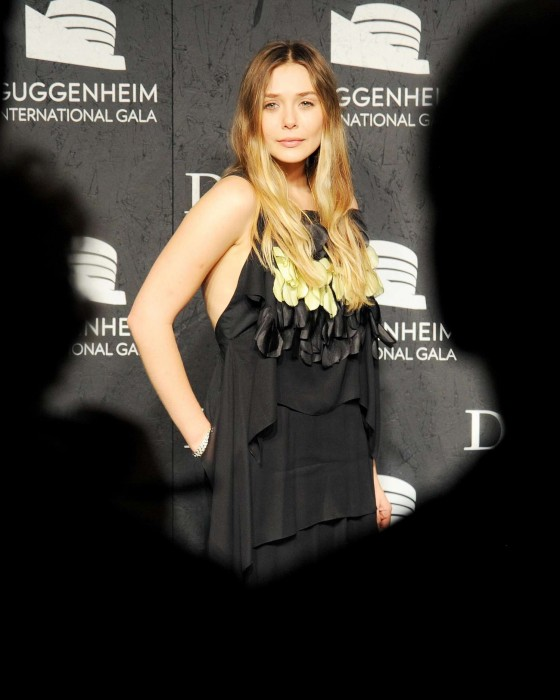 Elizabeth Olsen: Guggenheim International Gala 2013 -11