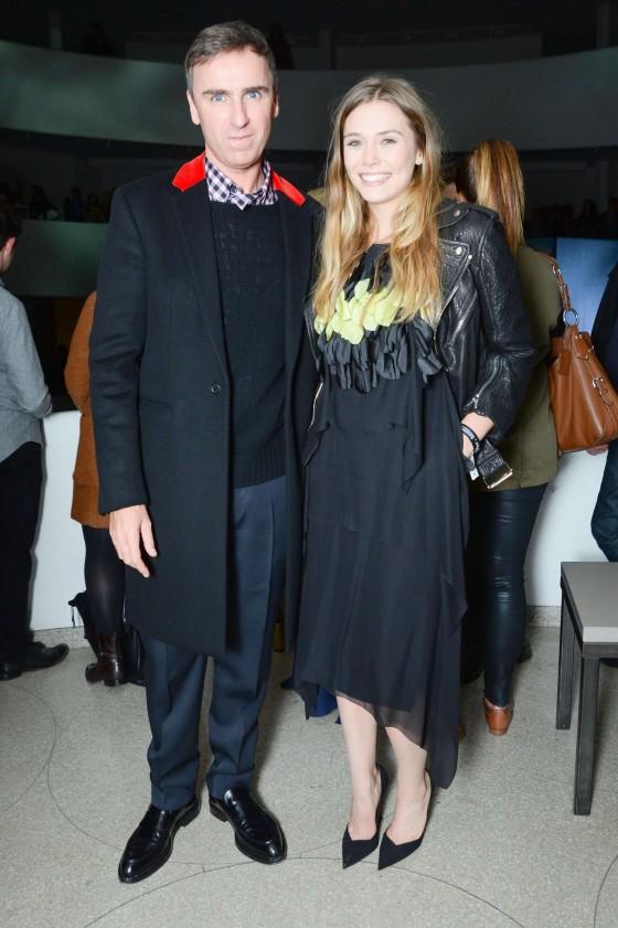Elizabeth Olsen: Guggenheim International Gala 2013 -14