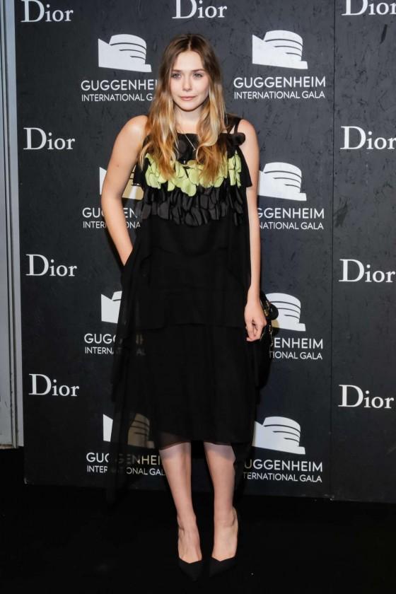 Elizabeth Olsen: Guggenheim International Gala 2013 -15