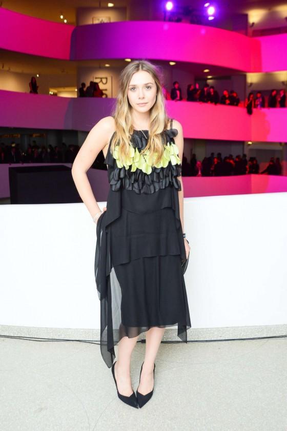 Elizabeth Olsen: Guggenheim International Gala 2013 -16