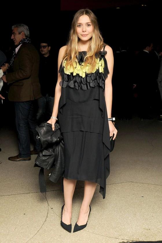 Elizabeth Olsen: Guggenheim International Gala 2013 -18