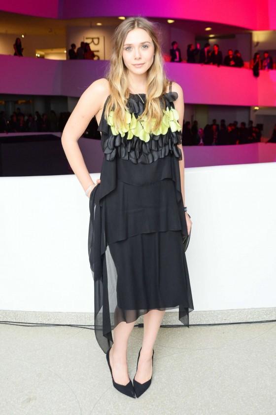 Elizabeth Olsen: Guggenheim International Gala 2013 -21