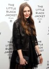 Elizabeth Olsen at Chanel The Little Jacket Black photo exhibition -01