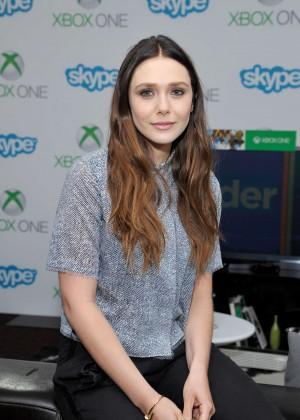 Elizabeth Olsen - Microsoft VIP Lounge at Comic-Con 2014