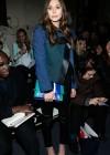 Elizabeth Olsen - Proenza Schouler Fall 2013 Fashion Show -02