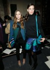 Elizabeth Olsen - Proenza Schouler Fall 2013 Fashion Show -03