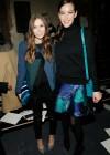 Elizabeth Olsen - Proenza Schouler Fall 2013 Fashion Show -09