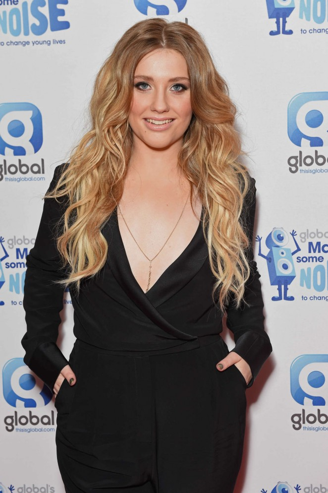 219ba06f422a36 Ella Henderson - 2014 Global Make Some Noise Event in London