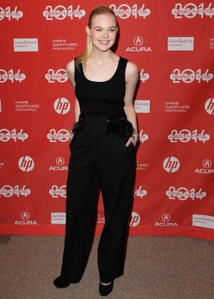 Elle Fanning: 2014 Sundance Young Ones Premiere -01