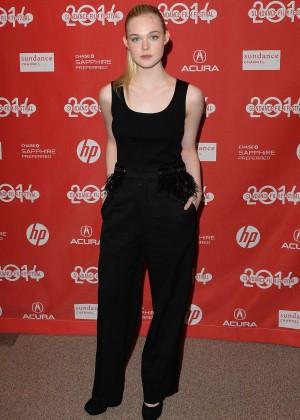 Elle Fanning: 2014 Sundance Young Ones Premiere -05