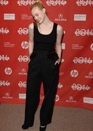 Elle Fanning: 2014 Sundance Young Ones Premiere -09