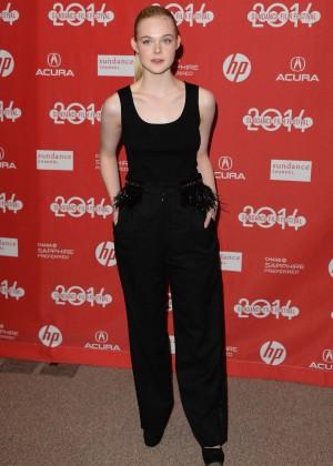 Elle Fanning: 2014 Sundance Young Ones Premiere -14