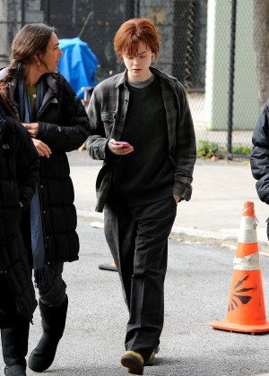 Elle Fanning on Three Generations set -42