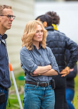 Ellen Page and Julianne Moore on Freeheld set -17