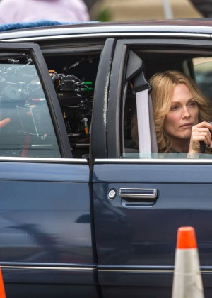 Ellen Page and Julianne Moore on Freeheld set -22