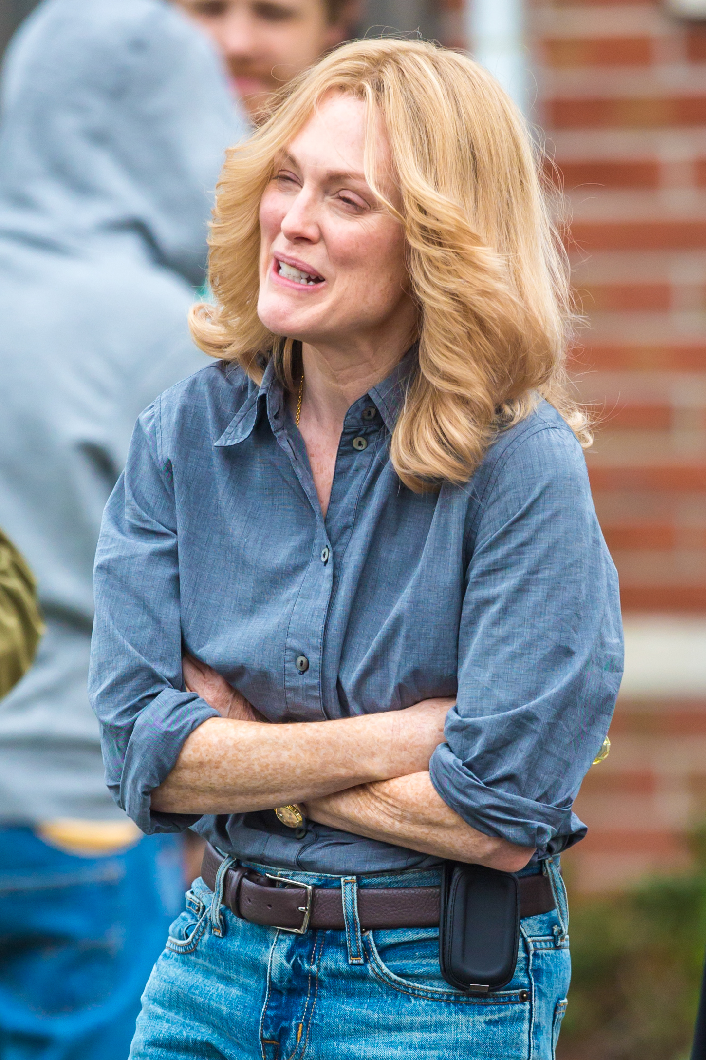 Ellen Page 2014 : Ellen Page and Julianne Moore on Freeheld set -34
