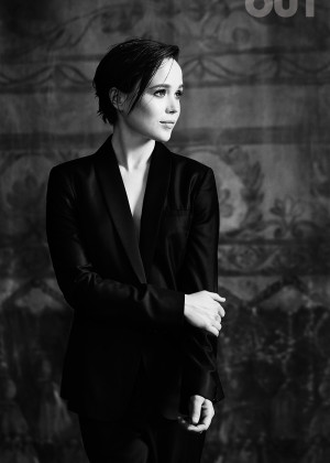 Ellen Page - OUT Magazine (December 2014)