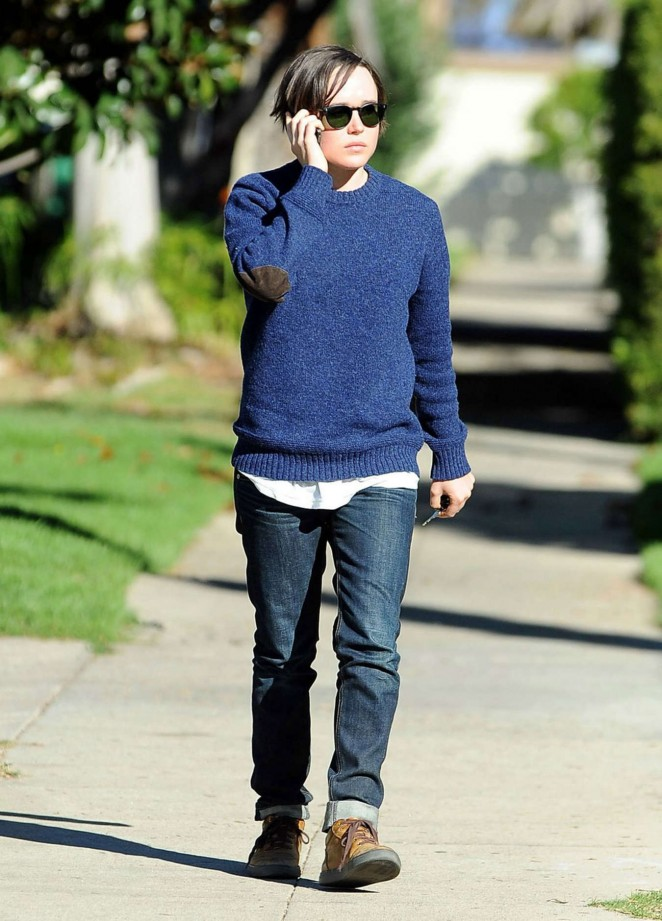 Ellen Page – Out and About in Los Angeles