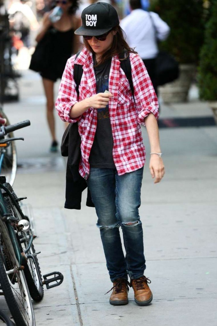 Ellen Page Out and About in New York City