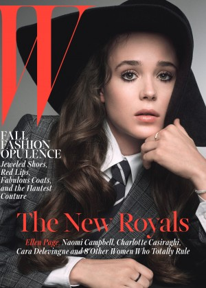 Ellen Page - W Magazine Cover (October 2014)
