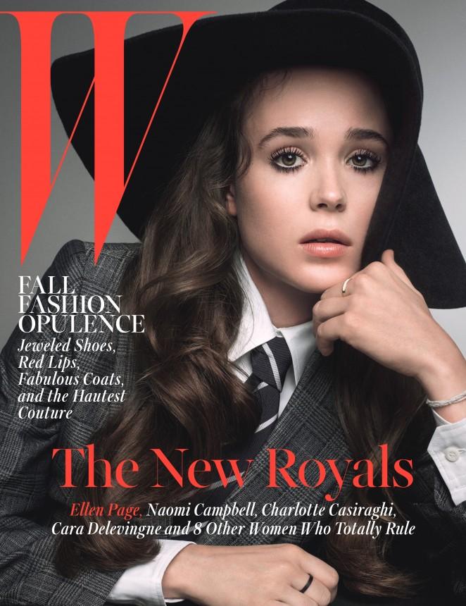 Ellen Page – W Magazine (October 2014)