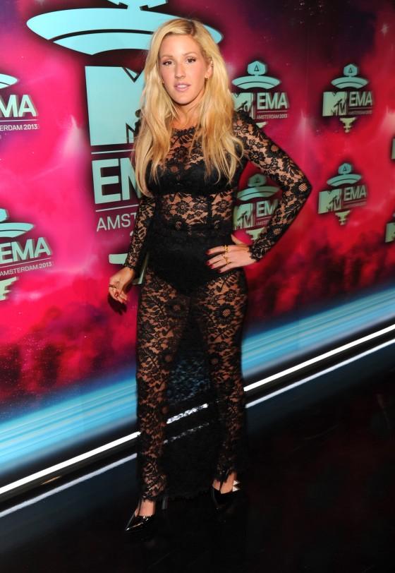 Ellie Goulding: 2013 MTV EMA -17
