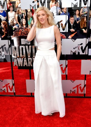 Ellie Goulding: 2014 MTV Movie Awards -01