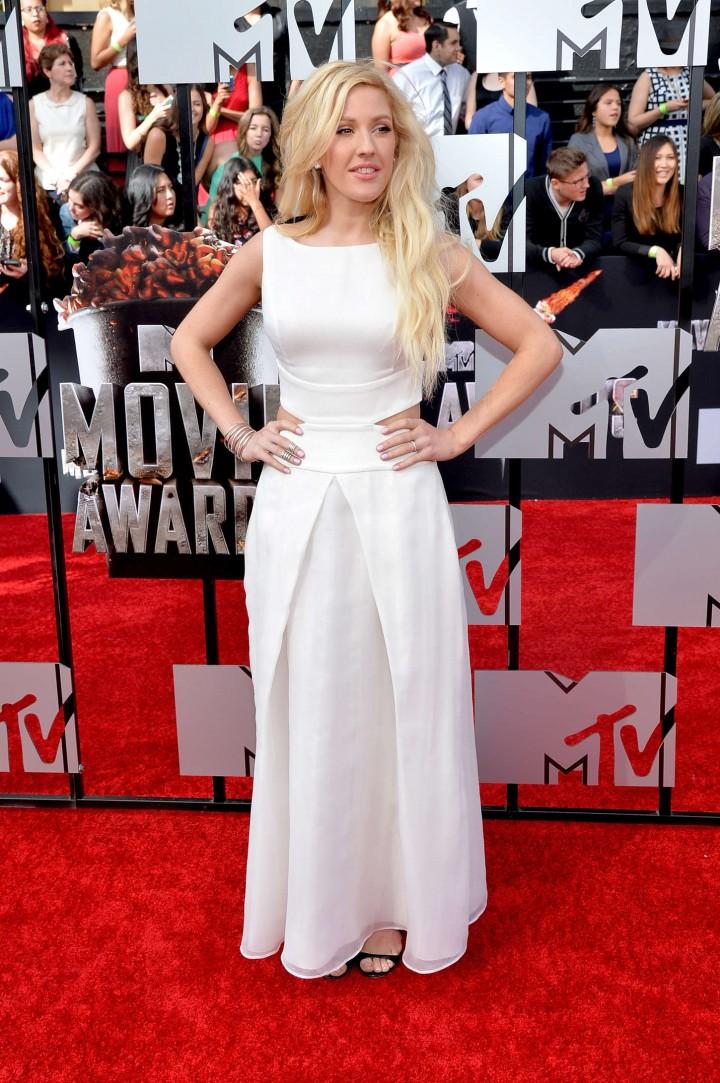 Ellie Goulding: 2014 MTV Movie Awards -02